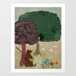 Storytime Art Print