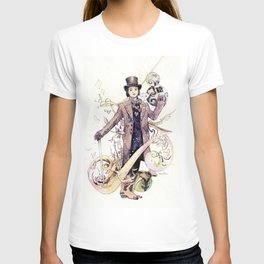 Willy Wonka and his chocolate factory T-shirt