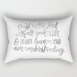 Proverbs Three Five Rectangular Pillow