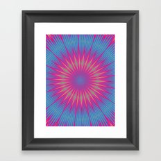 acid test 2 Framed Art Print
