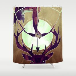 Artemis - The Huntress Shower Curtain