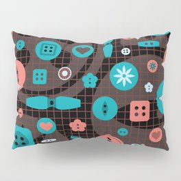 button it Pillow Sham