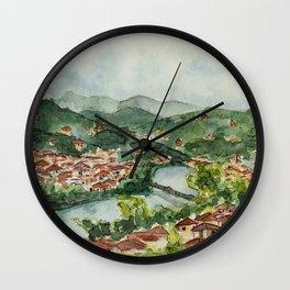 Florence Views Wall Clock