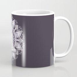 Black Mandala Coffee Mug