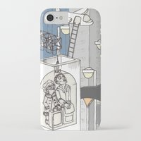 flight iPhone & iPod Cases featuring flight by Madmi