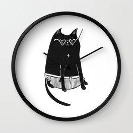 Peep Creep Wall Clock