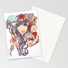 Pintsizevillan portrait Stationery Cards