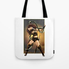 Woman & Snake Tote Bag