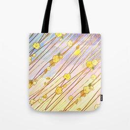 Creeping Flower & Leaves 2 Tote Bag