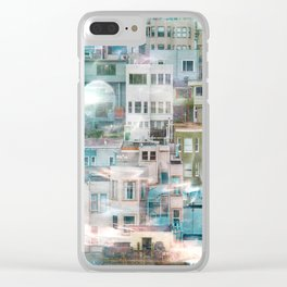 Tinsel 3 Clear iPhone Case