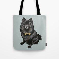 Ozzy the Pomeranian Mix Tote Bag