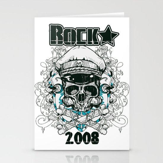 Rock  Stationery Cards