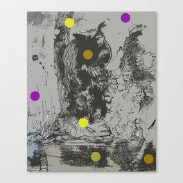 Walking Away from Certain Doom Canvas Print