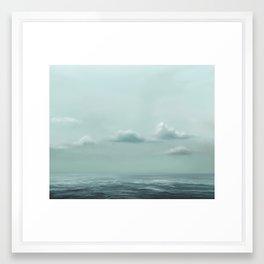 Attestation of Breathing Framed Art Print