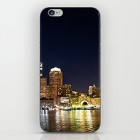boston iPhone & iPod Skins featuring Boston by Bust it Away Photography