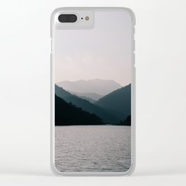 HALONG HILLS Clear iPhone Case