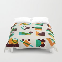 Shape of thoughts Duvet Cover