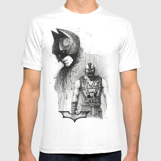 Bat In Black (The Dark Knight Rises) T-shirt
