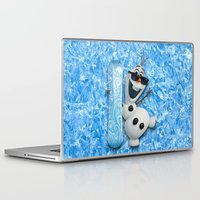 lannister Laptop & iPad Skins featuring SNOW MAN OLAF by BeautyArtGalery