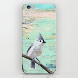 Tufted Titmouse iPhone Skin