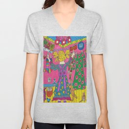 The Dryer Went Out Again Unisex V-Neck