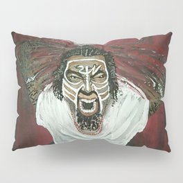 Tech N9ne Painting in Acrylics Pillow Sham