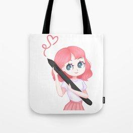 Let's Draw! HanaB0T Tote Bag