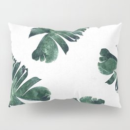Banana Leaf Watercolor #society6 #buy #decor Pillow Sham