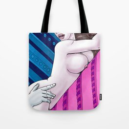 Sex and smiles Tote Bag