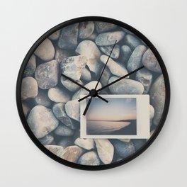 an instant sunset ... Wall Clock