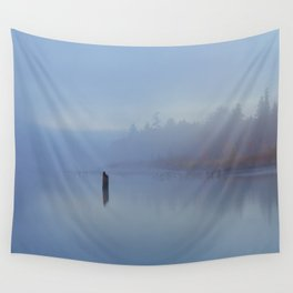 New York Blues Wall Tapestry