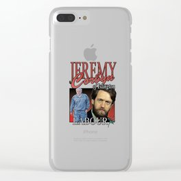 JEREMY CORBYN LABOUR VINTAGE Tee Clear iPhone Case