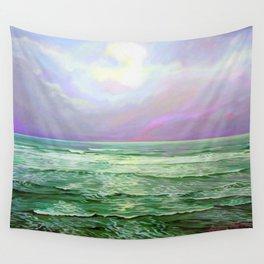 Wave Meditation by Amanda Martinson Wall Tapestry