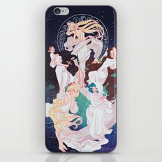 Sailor Mucha iPhone Skin