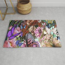 Illusional Floral Rug