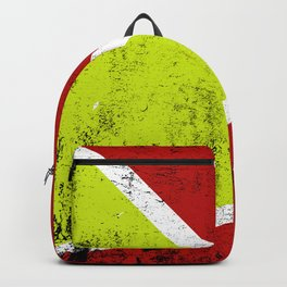 Rusty abstract art Backpack