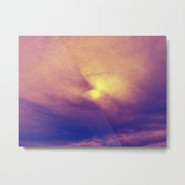 Skies Have No Limits Metal Print
