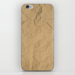 Wrinkled Craft iPhone Skin