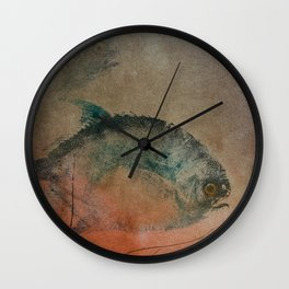 Two Fish Wall Clock