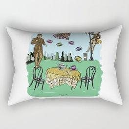 Tea Time ( fig.2 ) Rectangular Pillow