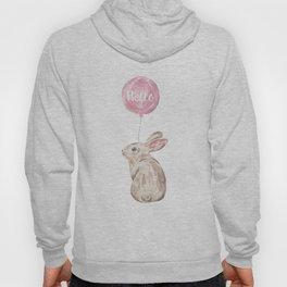 Rabbit Greetings Hoody