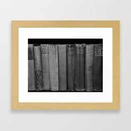 First Editions (wide view) Framed Art Print