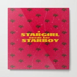 Stargirl needs her Starboy Metal Print