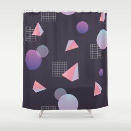 Infinite Holo - grow Shower Curtain