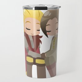 Dragon Age - Cullen and Inquisitor [Commission] Travel Mug