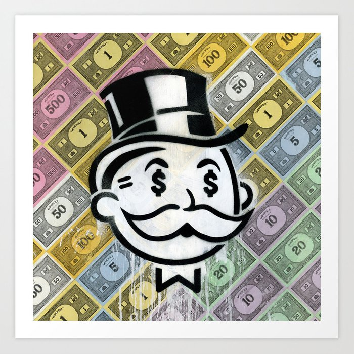 Another Day - Another Dollar Art Print