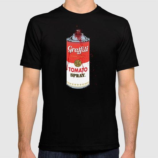 Graffiti Tomato Spray Can T-shirt