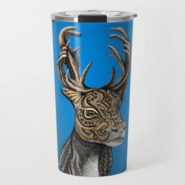 Caribou (Reindeer) Totem Travel Mug