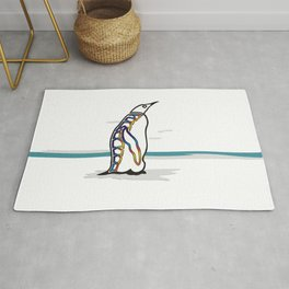 Colorful Penguin  Rug