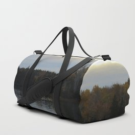 Sunset Over the Bay of Fundy Duffle Bag